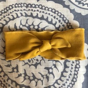 💛American Eagle Headband- Mustard Yellow